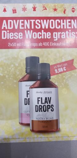 +++ 2 Flav Drops GRATIS - 4. Adventswoche +++