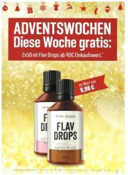 Adventsgeschenk 2x50ml Flav -Drops