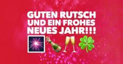 GUTEN RUTSCH UND EIN FROHES NEUS JAHR 2019!