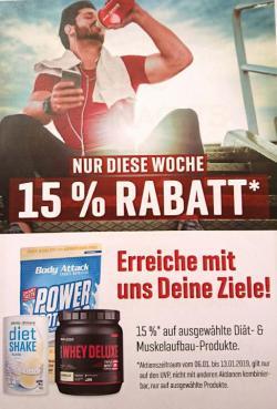 +++ 15% RABATT +++