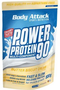 NEU: Power Protein 90 Butter Biscuit Cream