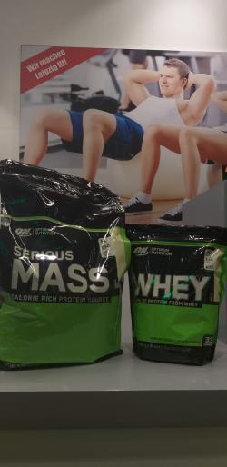 +++ Serious Mass 5,45 kg kaufen & ein Whey 891g umsonst dazu +++