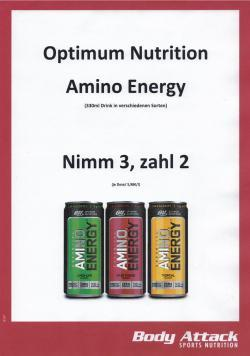 "Aktion ""2+1"" Optimum Nutrition - Amino Energy"