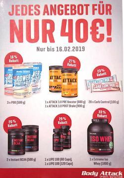 +++ ANGEBOT FÜR NUR 40€! +++