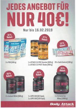 Jedes Angebot für nur 40€!!