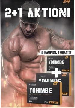 Body Attack - Yohimbe - Aktion 2 + 1
