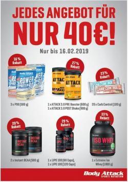 40€-Aktion und 3 Testo Shock zum Preis von 2