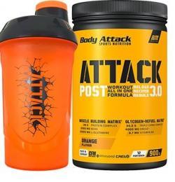 Post Attack 3.0 - 900g + gratis Shaker ATTACK 600ml