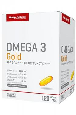 Omega 3 Gold 120 Softgel Caps