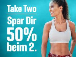 Take two - Spar 50% beim zweiten Produkt