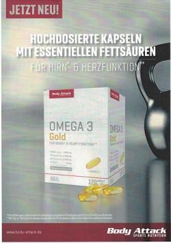 Body Attack - Omega 3 Gold