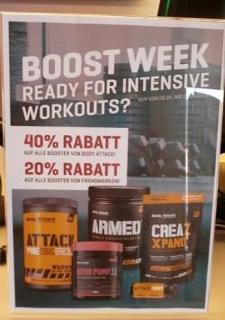 BOOST WEEK! Bis zu 40% Rabatt!!!