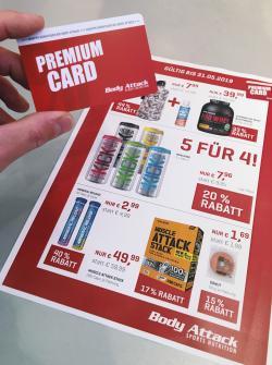 +++PREMIUM CARD - ANGEBOTE MAI 2019+++
