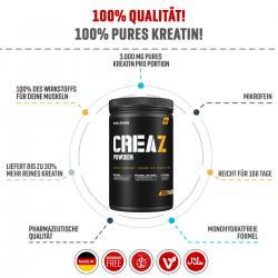 CreaZ -> Unser Kreatin -> Die Kreation!