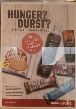 +++ Snack pack! 5 für 4! +++