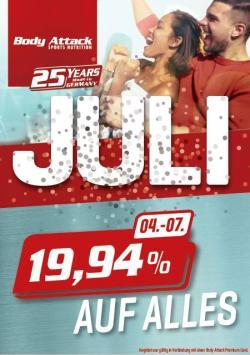 +++ Juli Aktion Woche 1 +++