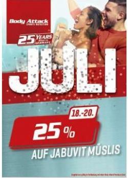 25 % auf JabuVit Müsli