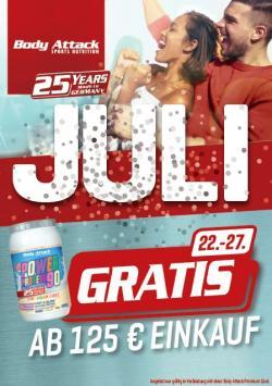 Für 125€ shoppen und 1kg PP90 Birthday Cake GRATIS dazu
