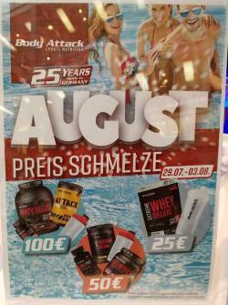 AUGUST PREIS SCHMELZE!!!