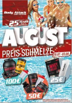 +++Preisschmelze im August+++