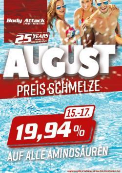 ++PREISSCHMELZE - 19,94% AUF ALLE AMINOSÄUREN MIT PREMIUM CARD++
