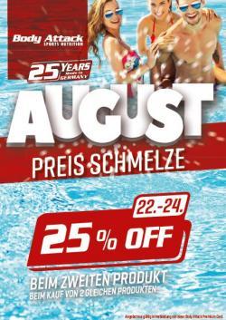 Spare 25% auf das 2. Produkt!!!