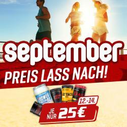Ausgewählte Produkte Je nur 25 Euro vom 12.-14.09.2019