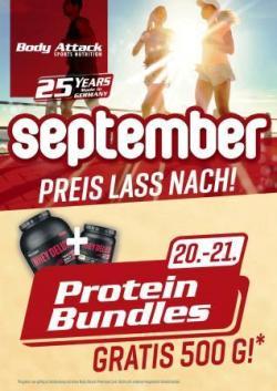 Preis Lass Nach - Protein Bundles + Snack-a-Whey
