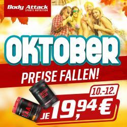 +++ Body Attack Instand EAA, BCAA nur 19,94+++