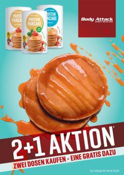 +++ PANCAKE 2+1 GRATIS!!! +++