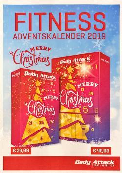 Body Attack Fitness Adventskalender 2019