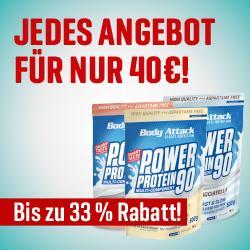 +++ JEDES ANGEBOT NUR 40€! +++