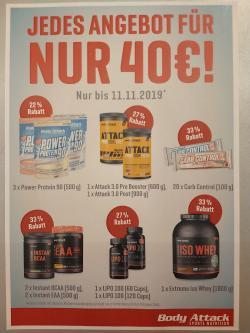 Jedes Angebot für nur 40€!