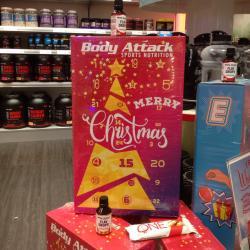 Jetzt im Angebot: Der Body Attack Riegel-Adventskalender