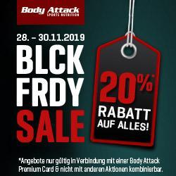BLCK FRDY! 20% Rabatt*