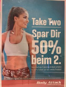 +++ 50% Rabatt auf das zweite gleiche Produkt +++