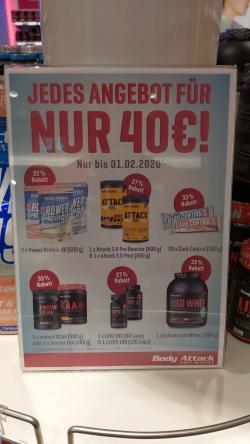 + + + 40€ Aktion + + +