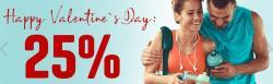 25 % Rabatt auf alle Body Attack Produkte DANK dem Tag der Liebe