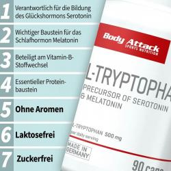 Body Attack - L-Tryptophan