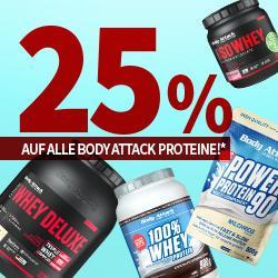 25% auf alle BA-Proteine