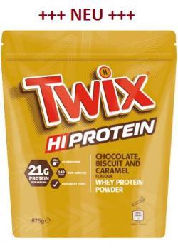 Neu: TWIX Protein Pulver