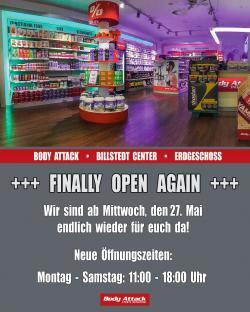 Ab dem 27.Mai wieder geöffnet!