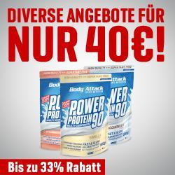 Last Call zur 40,-€ Aktion