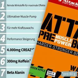 Neu von Body Attack: Der Pre-Attack 3.1