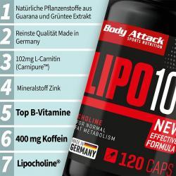 +++ LIPO 100 - New Formula +++