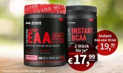 NUR FÜR KURZE ZEIT: EXTREME INSTANT EAA UND BCAA AB 17,99€!