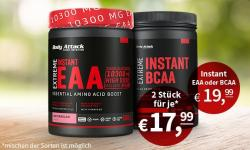 Rabatt Aktion: BCAA und EAA zum Knallerpreis!