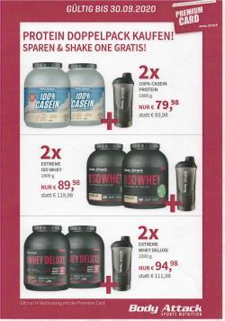 Viel hilft viel, sichert euch jetzt euer Doppelpack Protein!