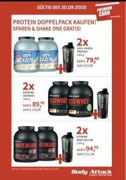 +++Protein Doppelpack + Gratis ShakeOne+++