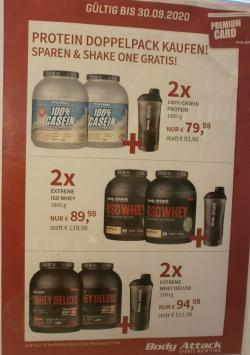 Doppel-Pakete kaufen + Shaker Gratis dazu!